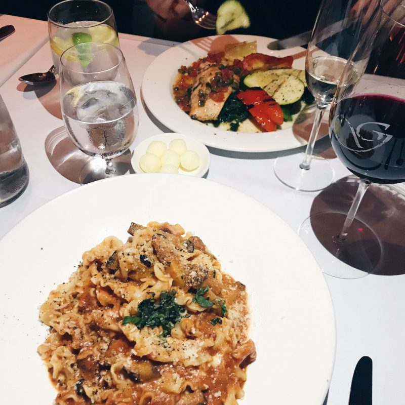 giovannis pasta ottawa, life with aco weekend