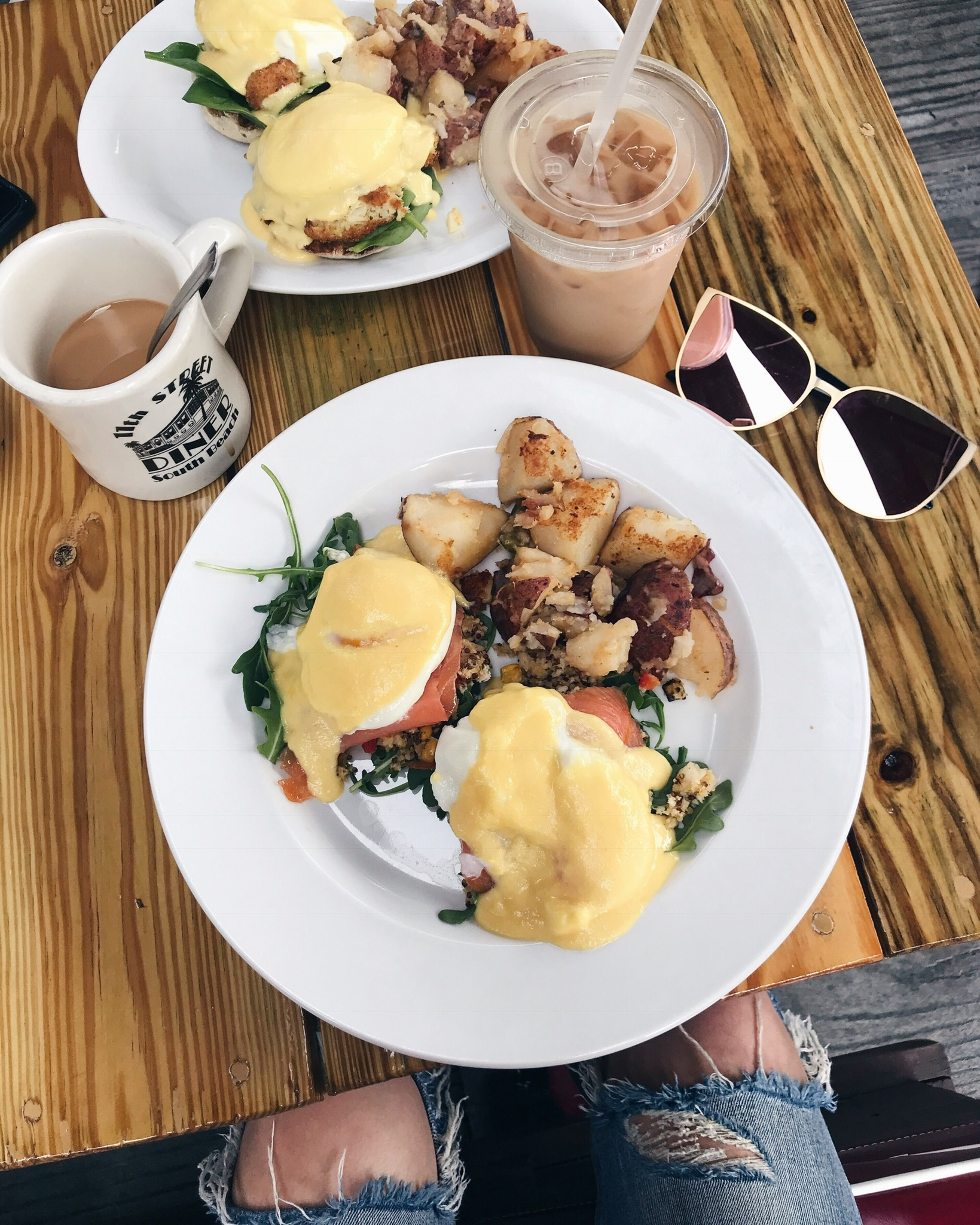 breakfast in miami, life with aco, quay sunglasses