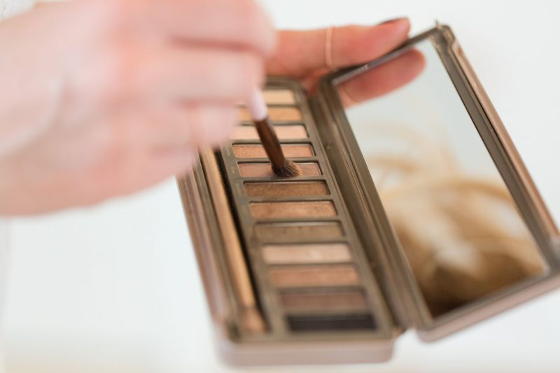 night out makaeup, life with aco, home bathroom, naked palette