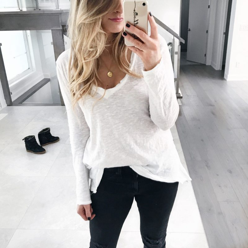 ottawa blogger, amanda conquer, free people top