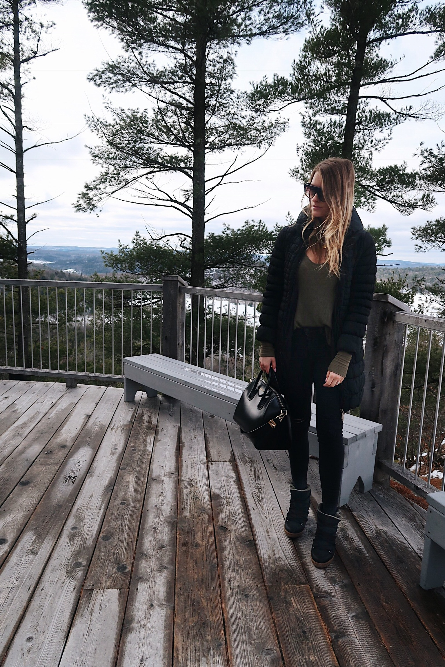 life with aco, casual winter outfit ideas, Givenchy bag, rag and bone black jeans, acoest1984, Amanda conquer