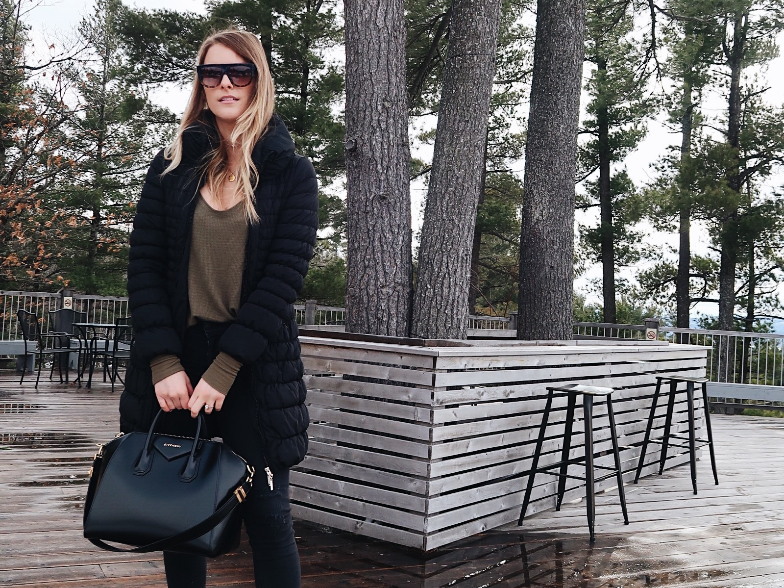 life with aco, Givenchy bag, winter outfit