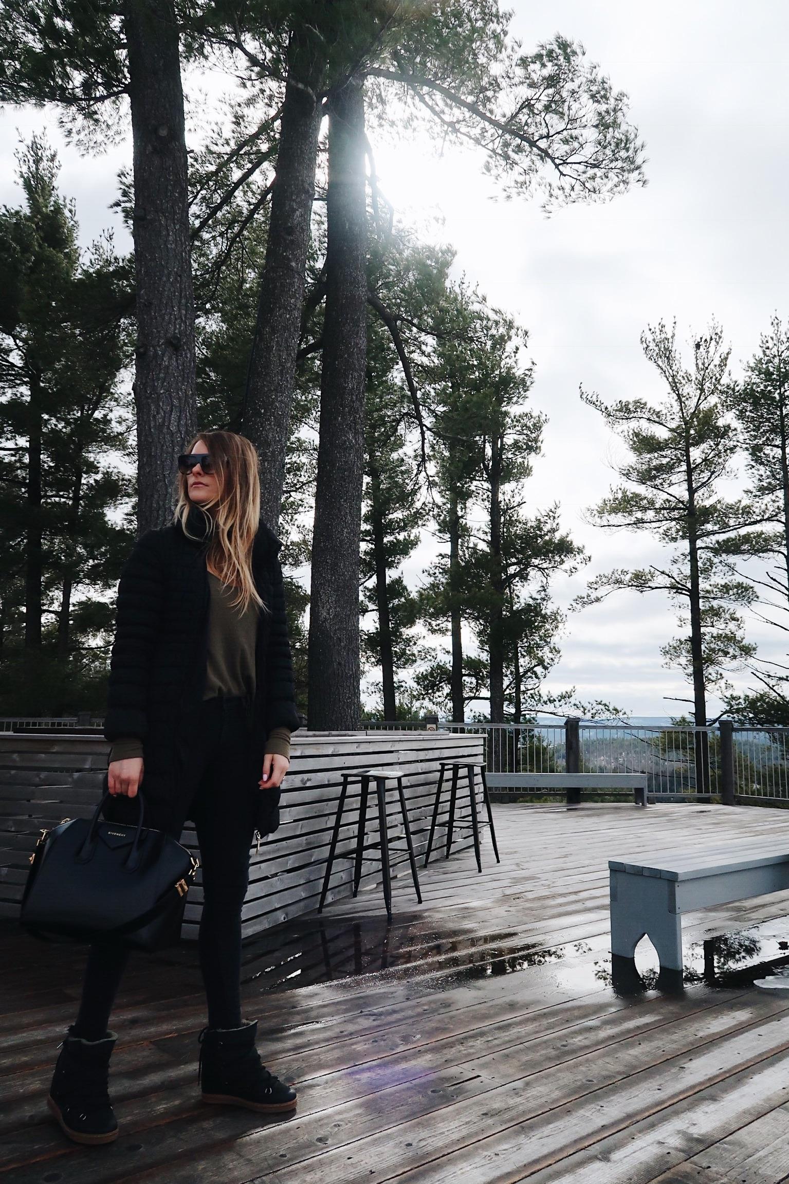 life with aco, Isabel maranta boots, Givenchy antigona, winter outfit