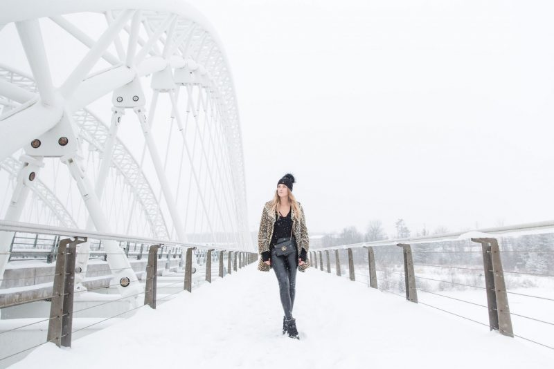 life with aco, leopard coat, winter outfit, ottawa blogger amanda conquer
