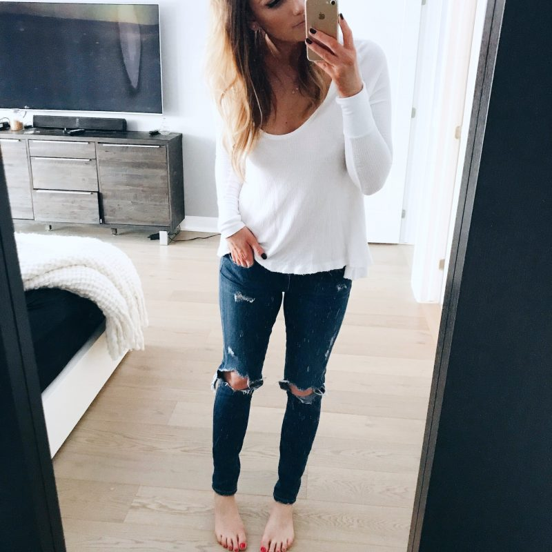life with aco, citizens of humanity jeans, free people thermal