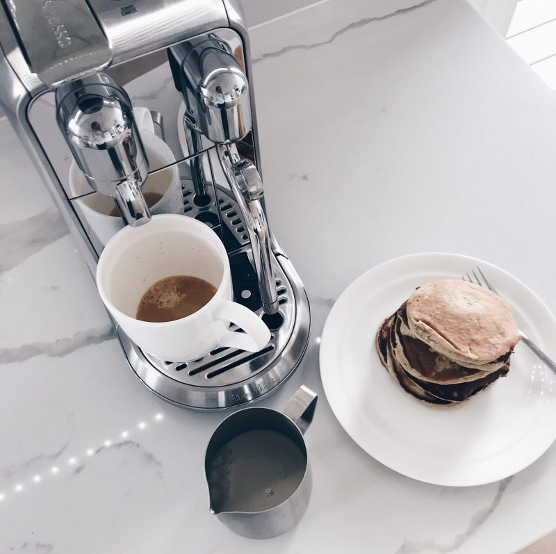 life with aco, coffee machine, nespresso, weekend recap