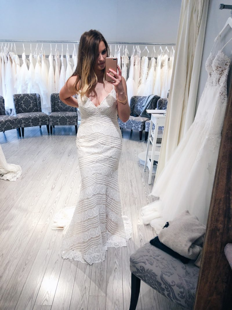 1 person, bride, girl wearing wedding dress, with love bridal ottawa