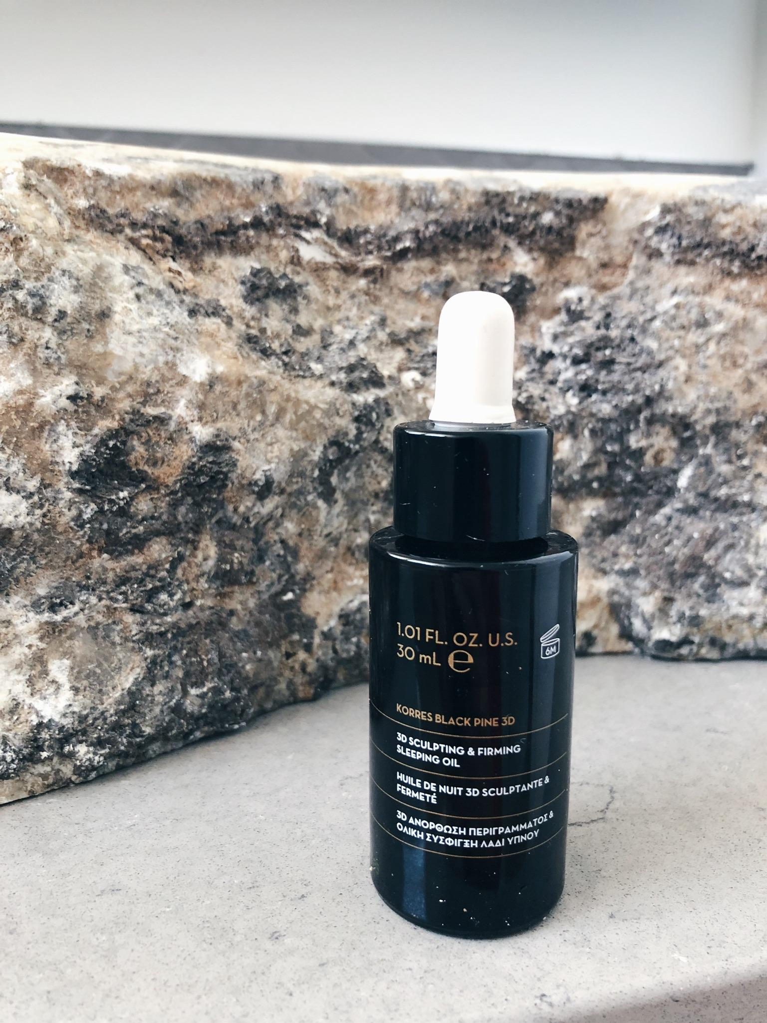 korres black pine sleeping oil