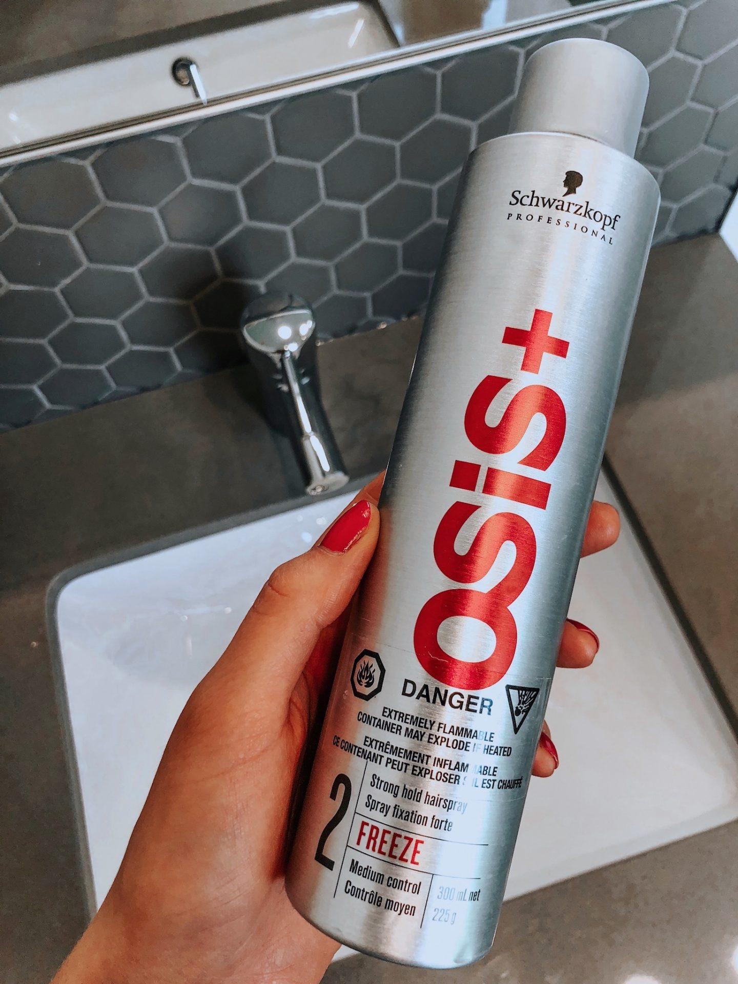 schwarzkopf osis+ hairspray
