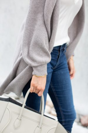 1 person, girl wearing Nordstrom anniversary sale outfit