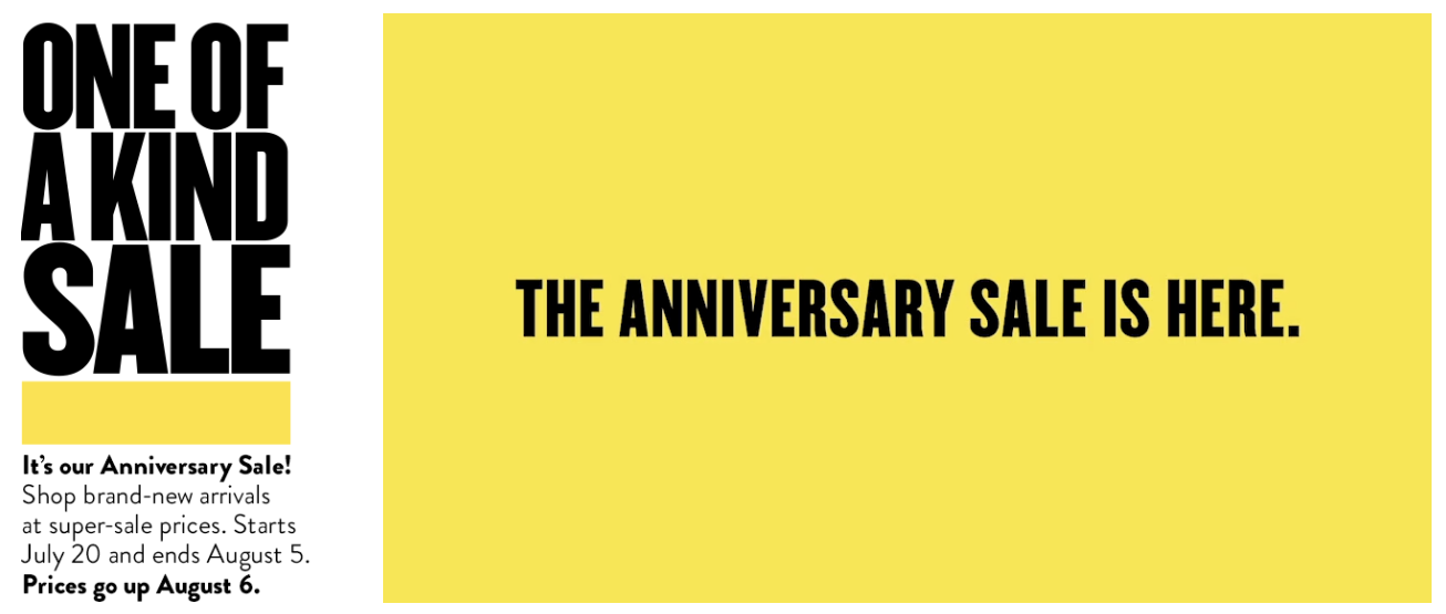 Nordstrom anniversary sale guide, how to shop the sale graphic