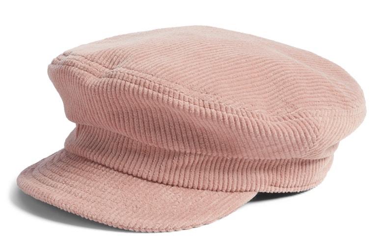 brixton baker boy cap pink corduroy, Nordstrom anniversary sale picks