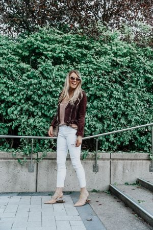 1 person, ottawa fashion blogger in white pants