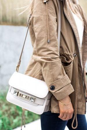 1 person carrying a proenza schouler ps11 bag