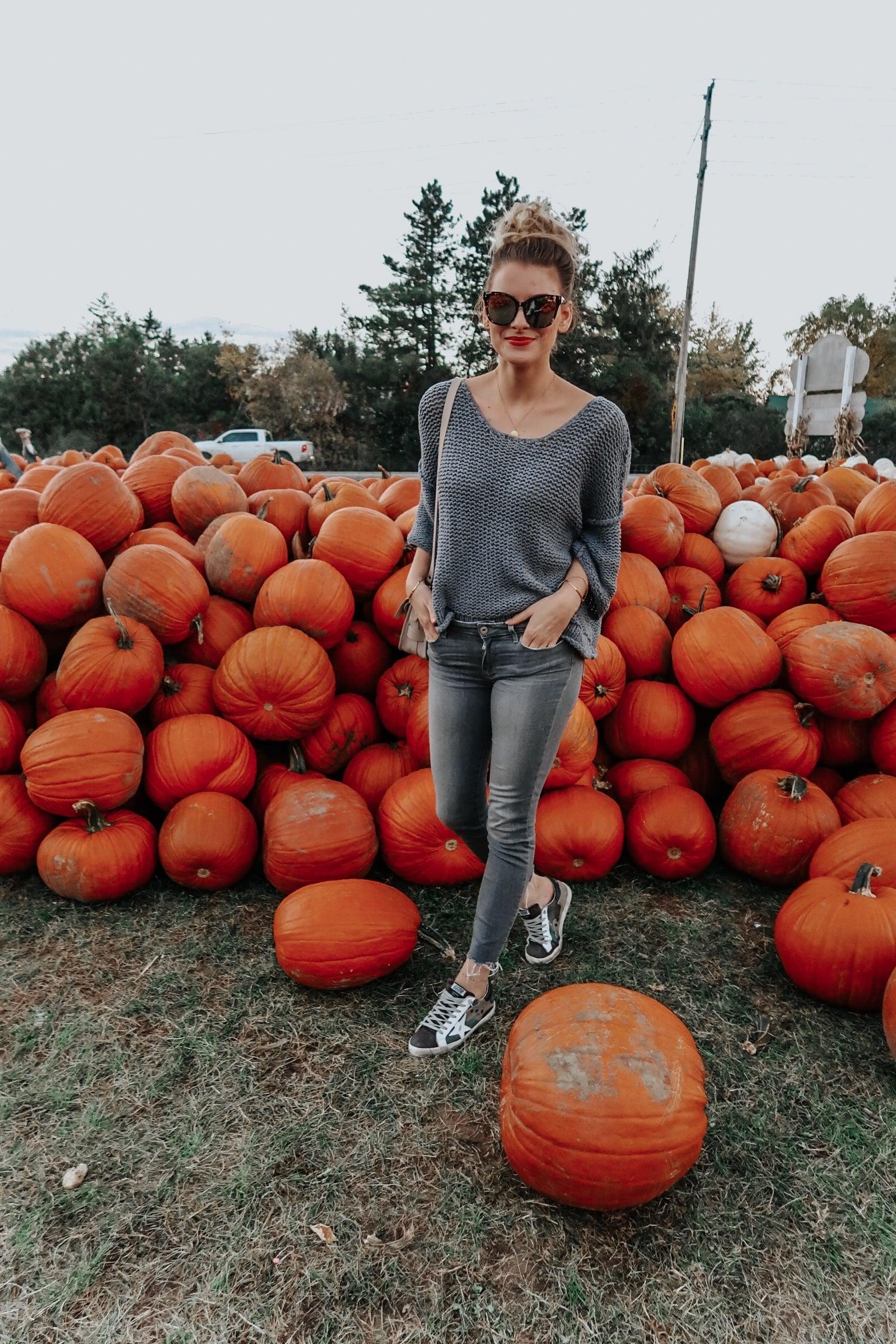 1 person, ottawa blogger, abby hill pumpkin patch