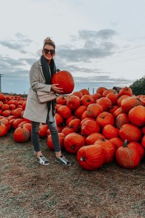 1 person, girl at pumpkin patch, abby hill Ottawa Ontario