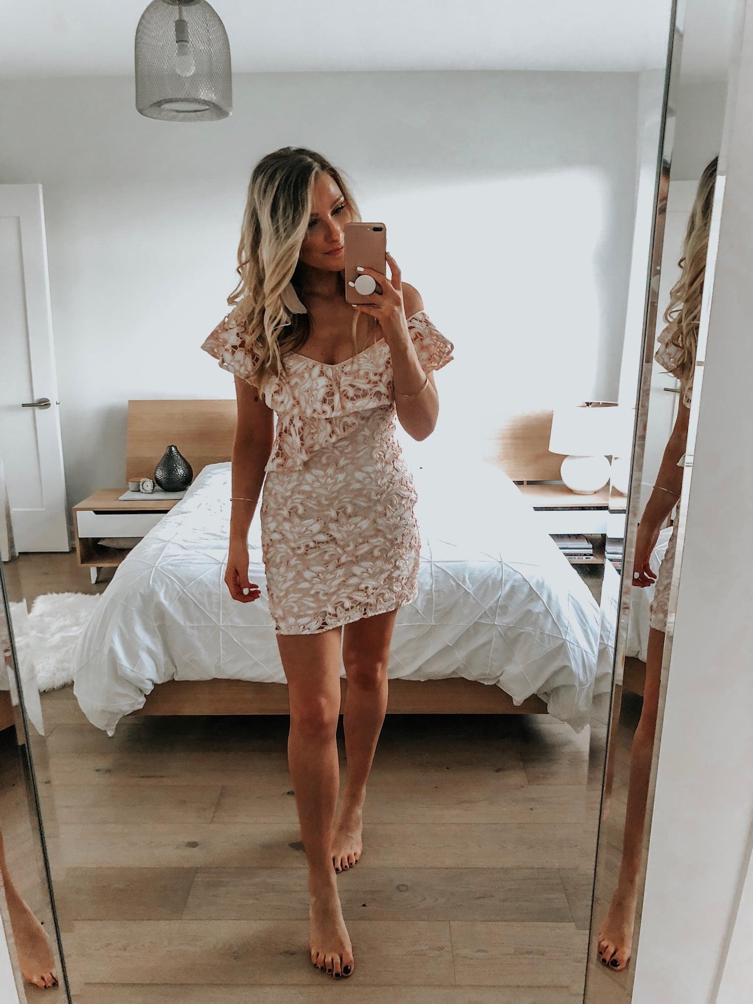 bachelorette dress for bride