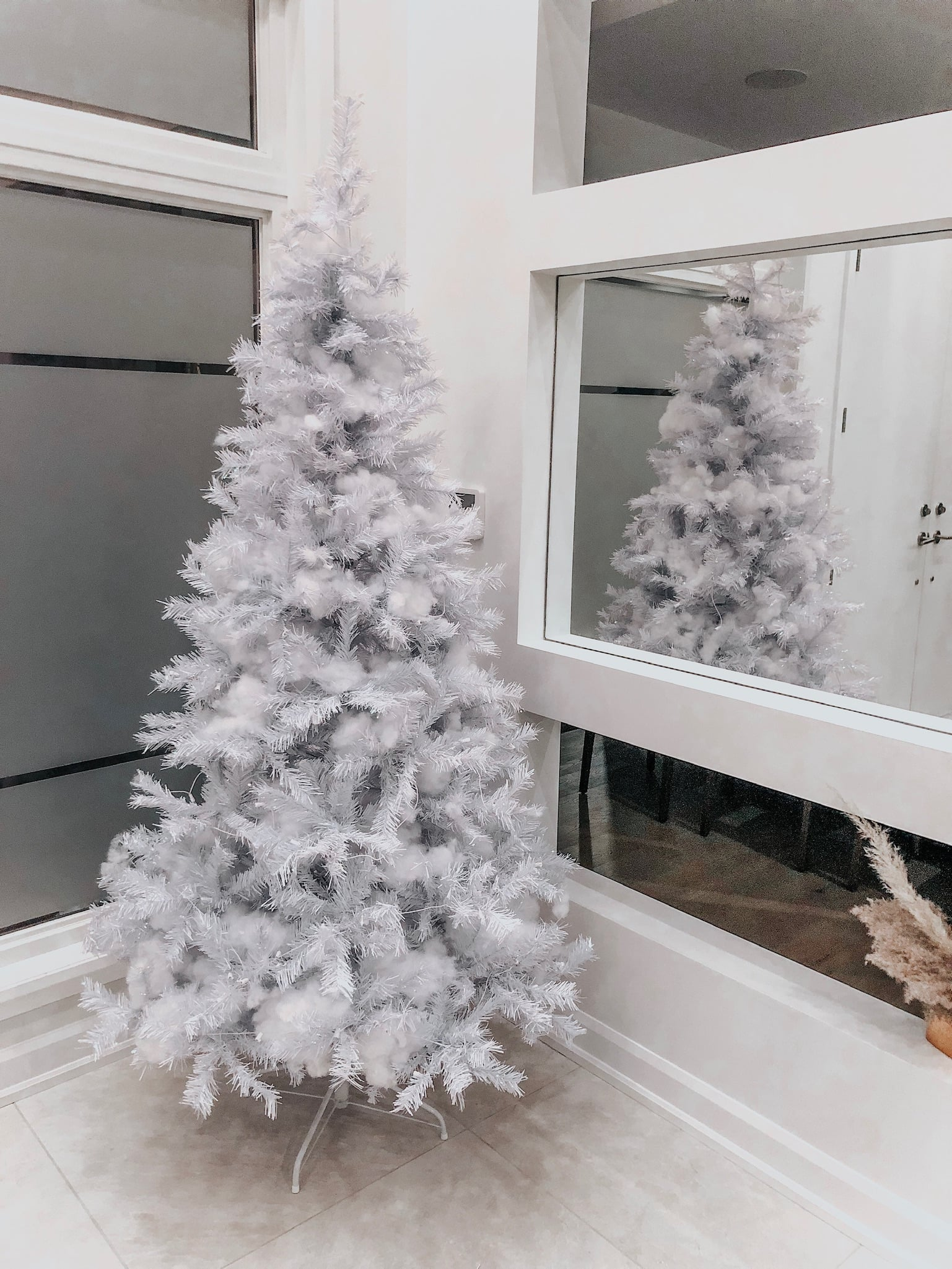 white christmas tree neutral