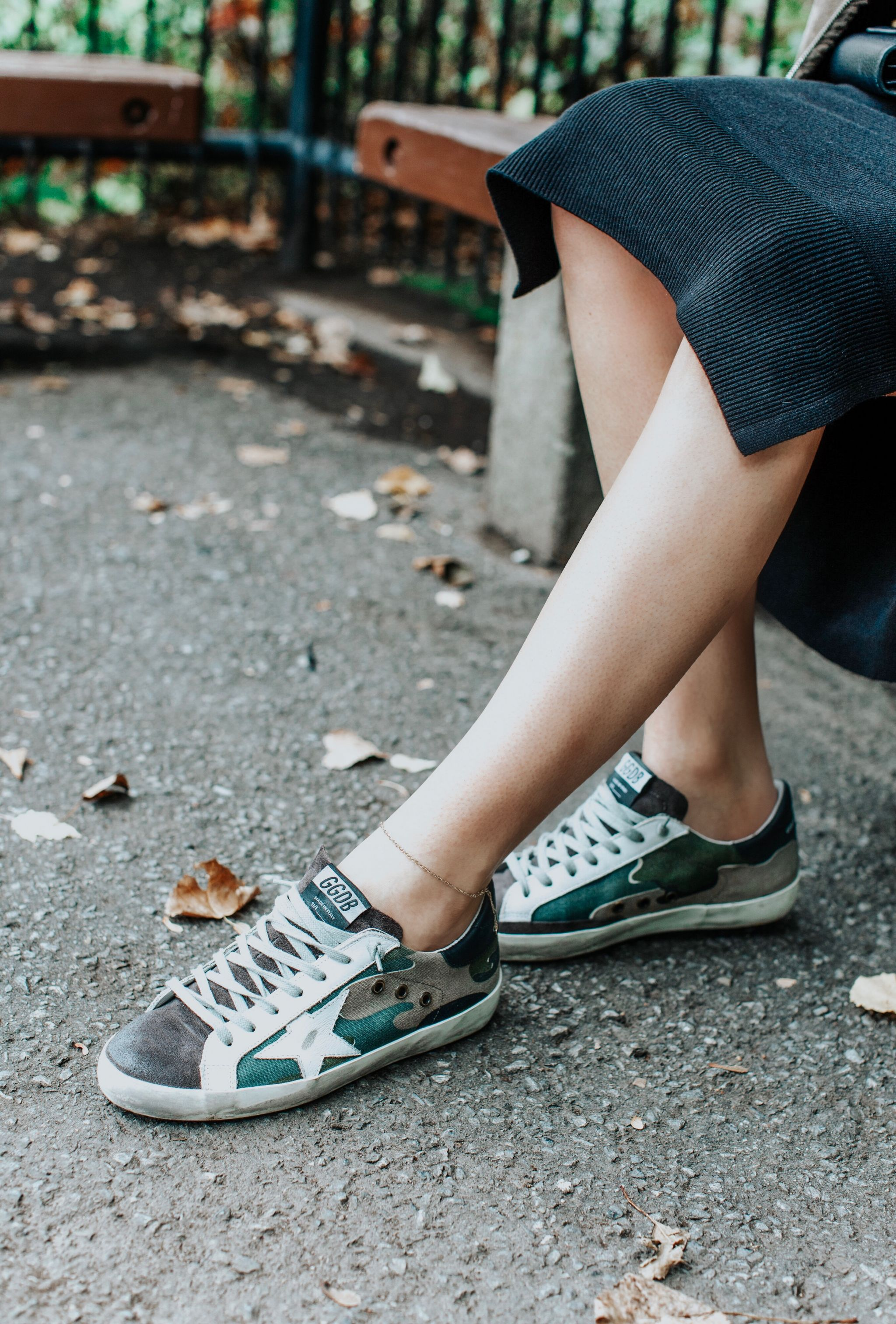 golden goose sneakers camo