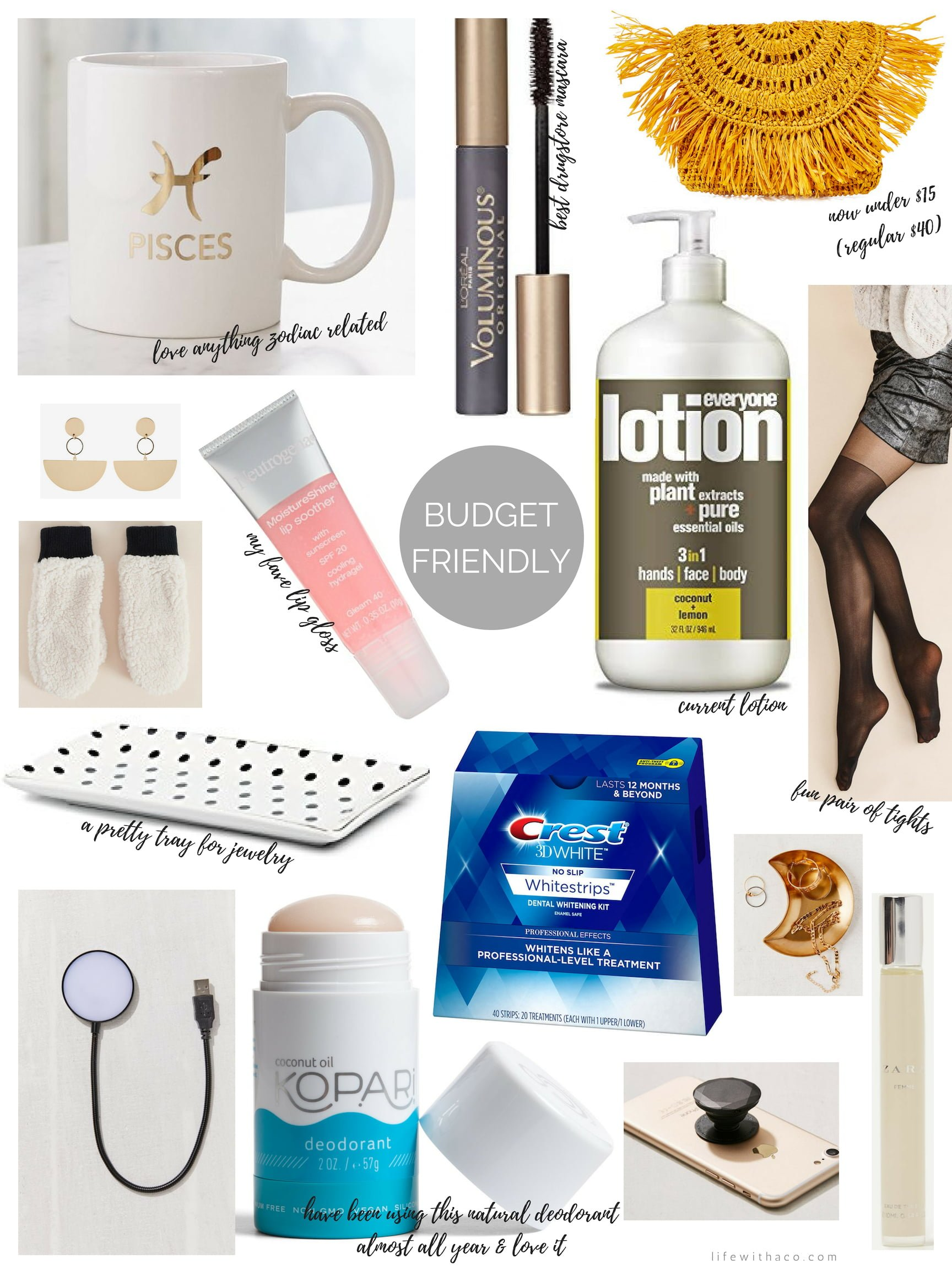 stocking stuffer gift guide for her