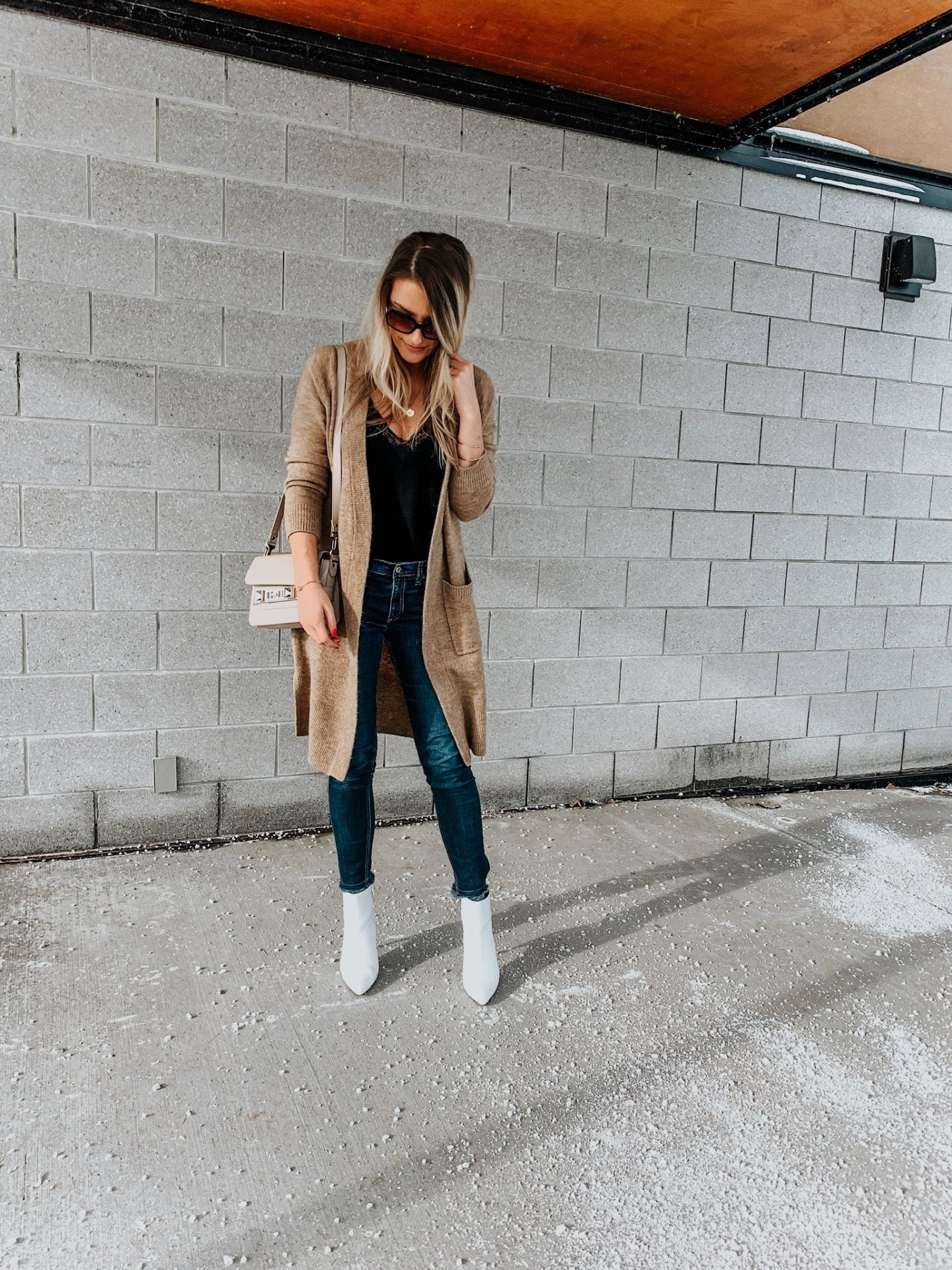 styling white ankle boots  life with acoamanda l