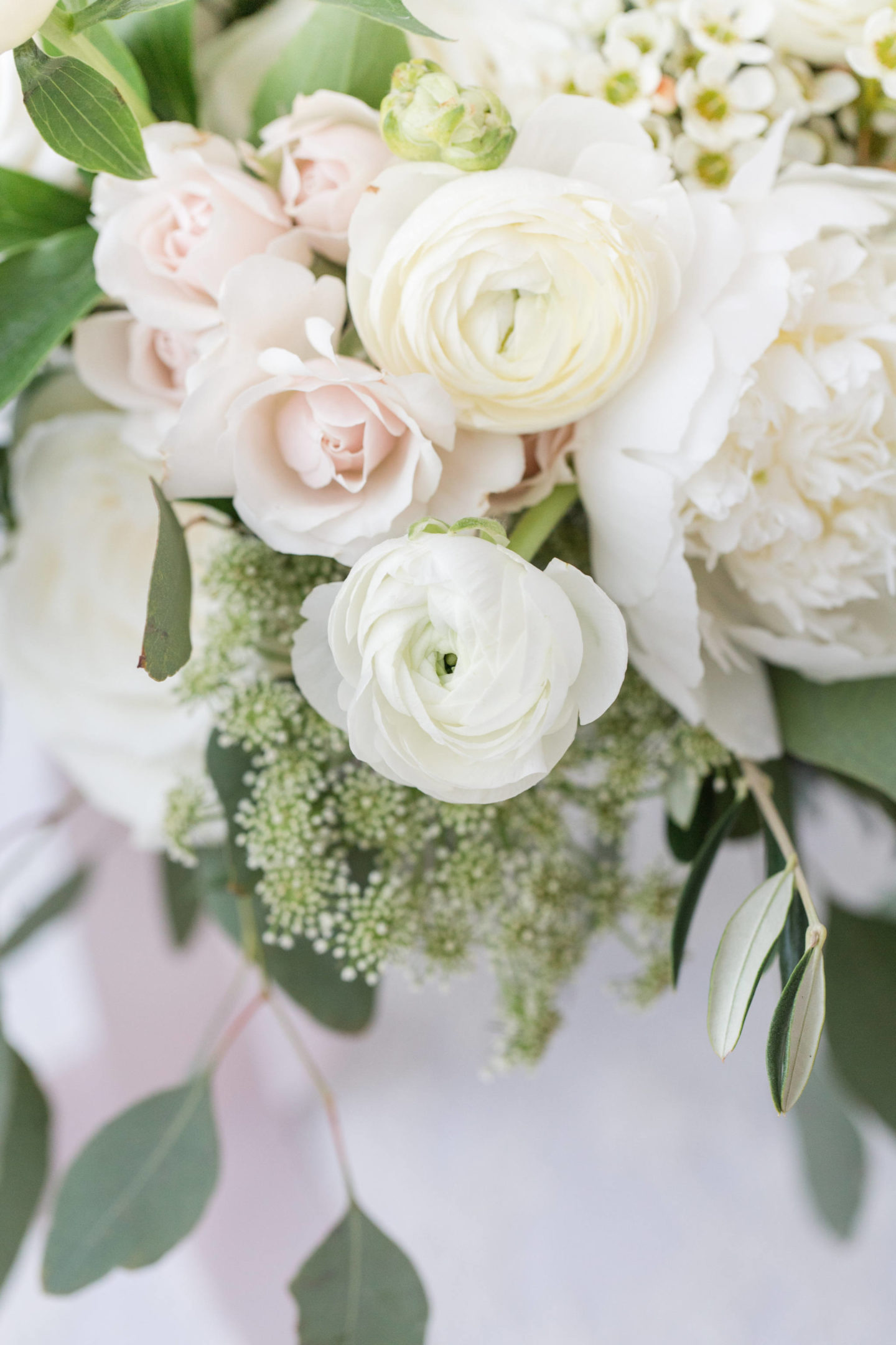 white and green bouquet for wedding ottawa