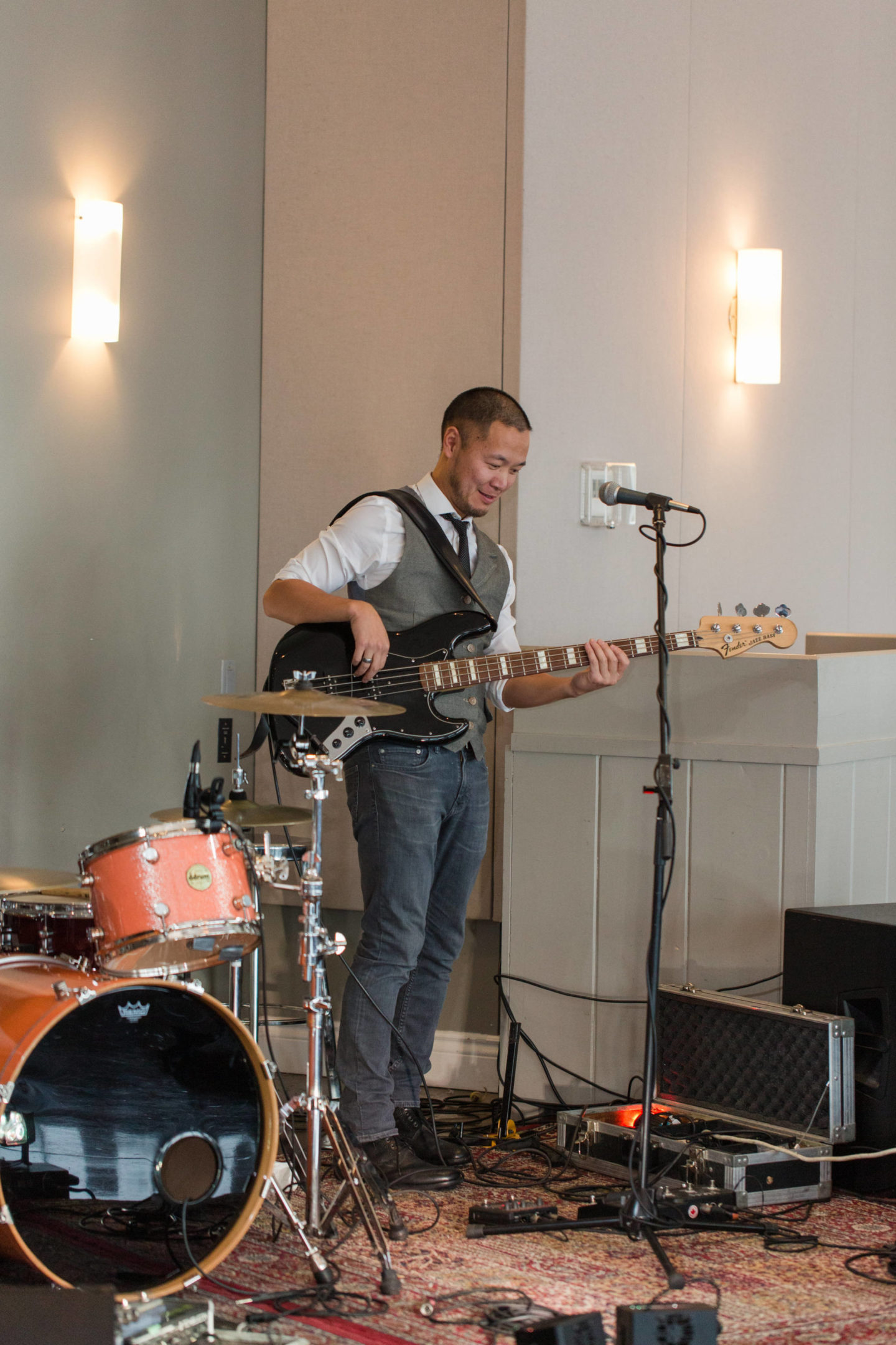 jackson miles band at le belvedere wedding
