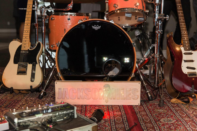 jackson miles band set up