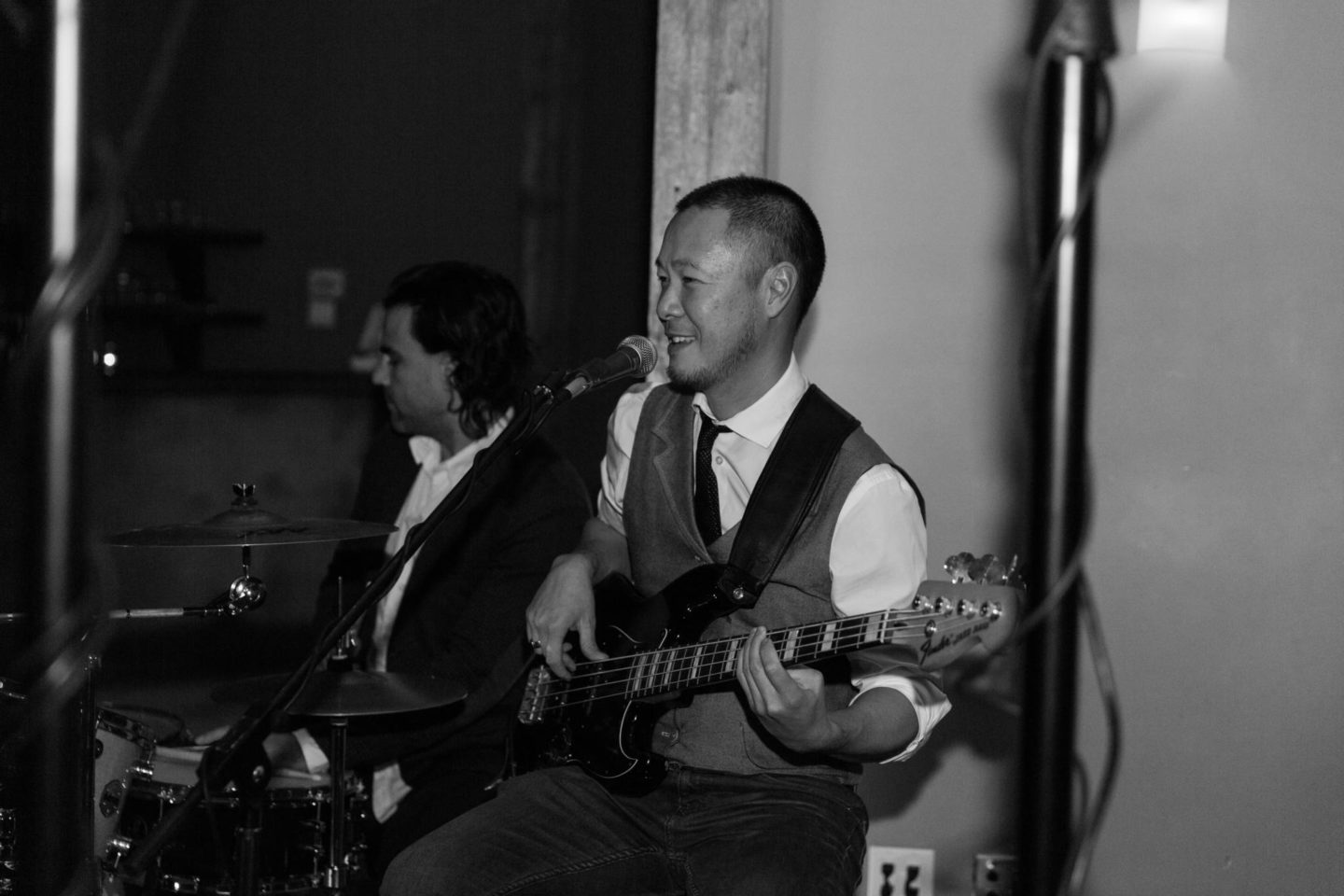 Jackson miles band performing at a wedding in Ottawa, le belvedere