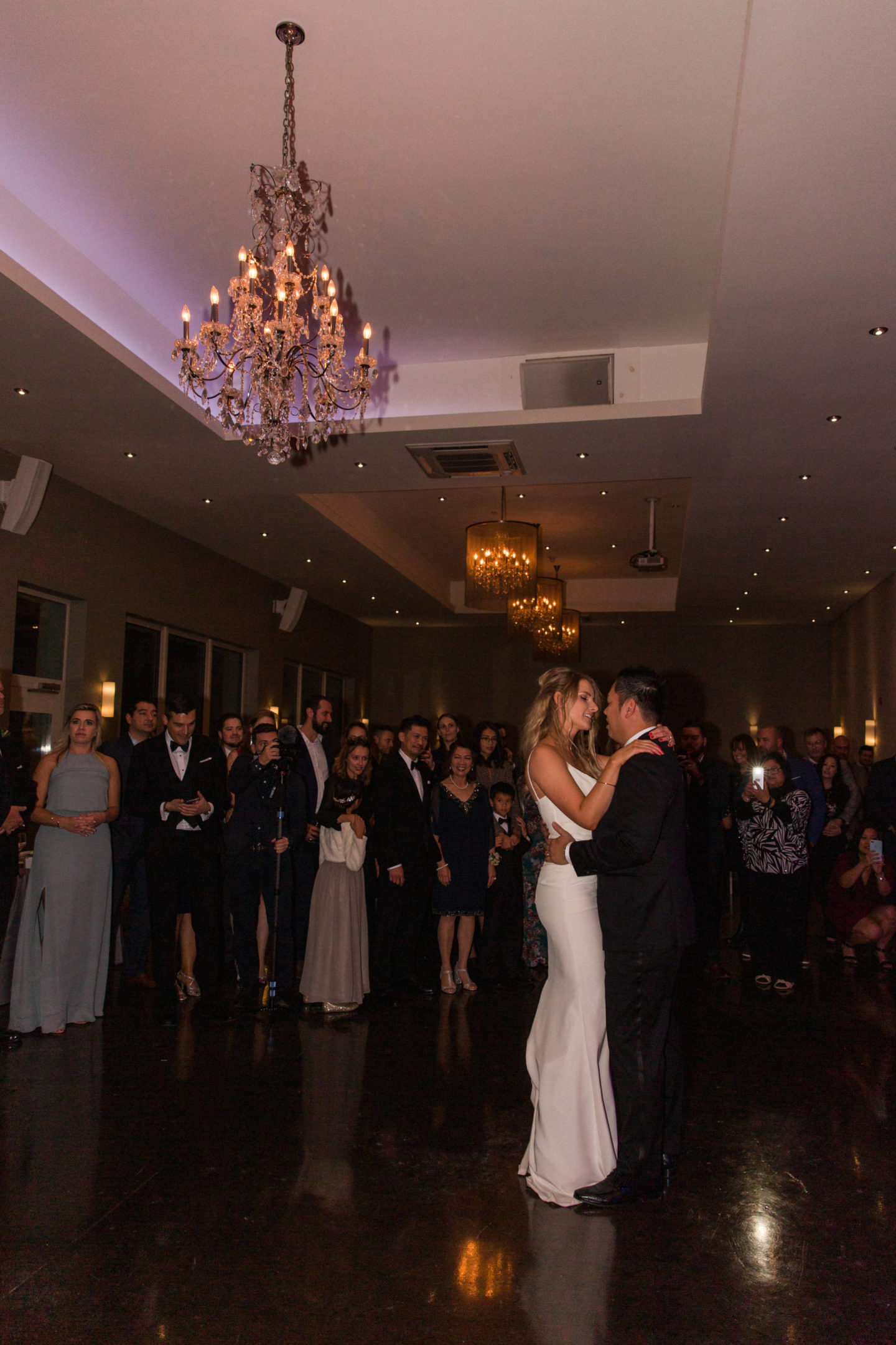 le belvedere first dance bride and groom wedding