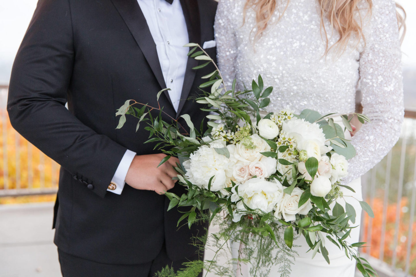 life with aco wedding flowers, capital florist bouquet held by amanda conquer
