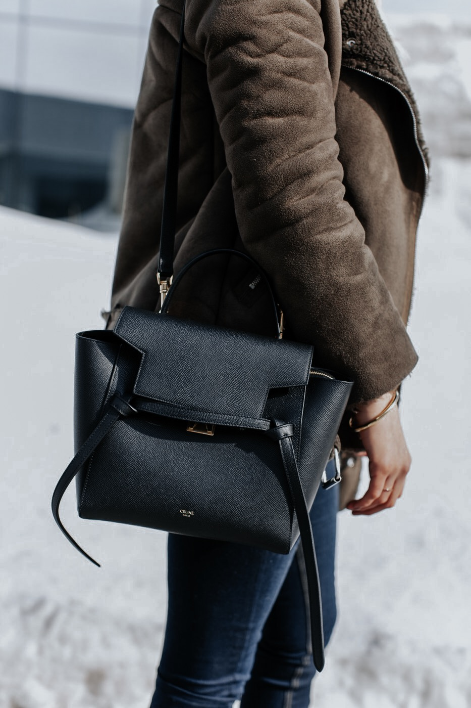 Celine Micro Belt Bag Black Life With Aco Life With A Co By Amanda L Conquer