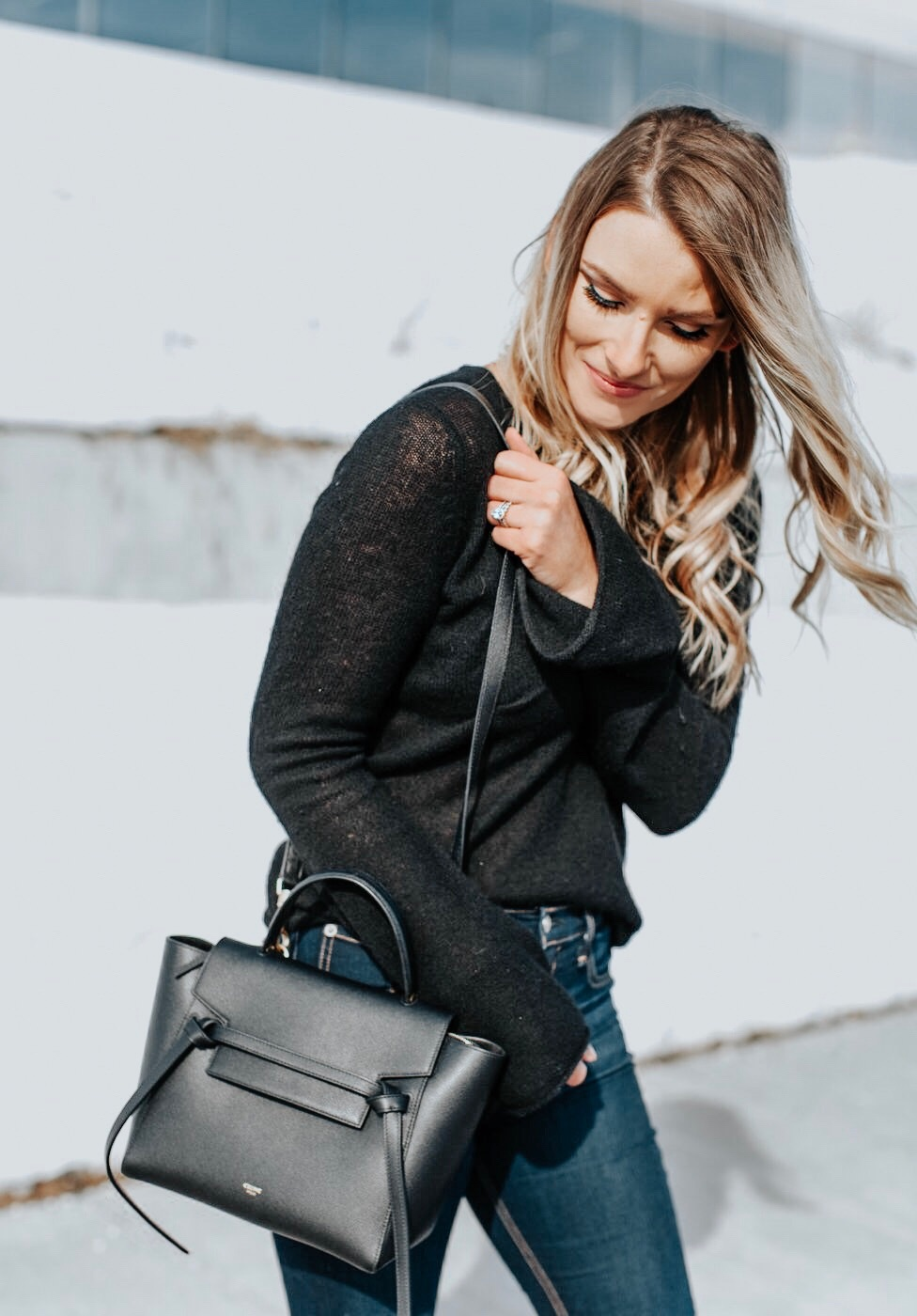 Life With Aco Celine Belt Bag Outfit Life With A Co By Amanda L Conquer