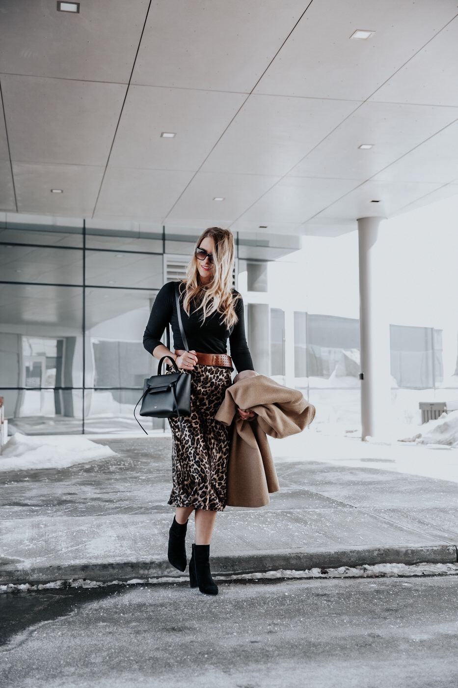 02cb253091 That said, what to wear to work when the temperatures are still chilly but  snow is melting and you want to break out some new spring trends is what  today's ...