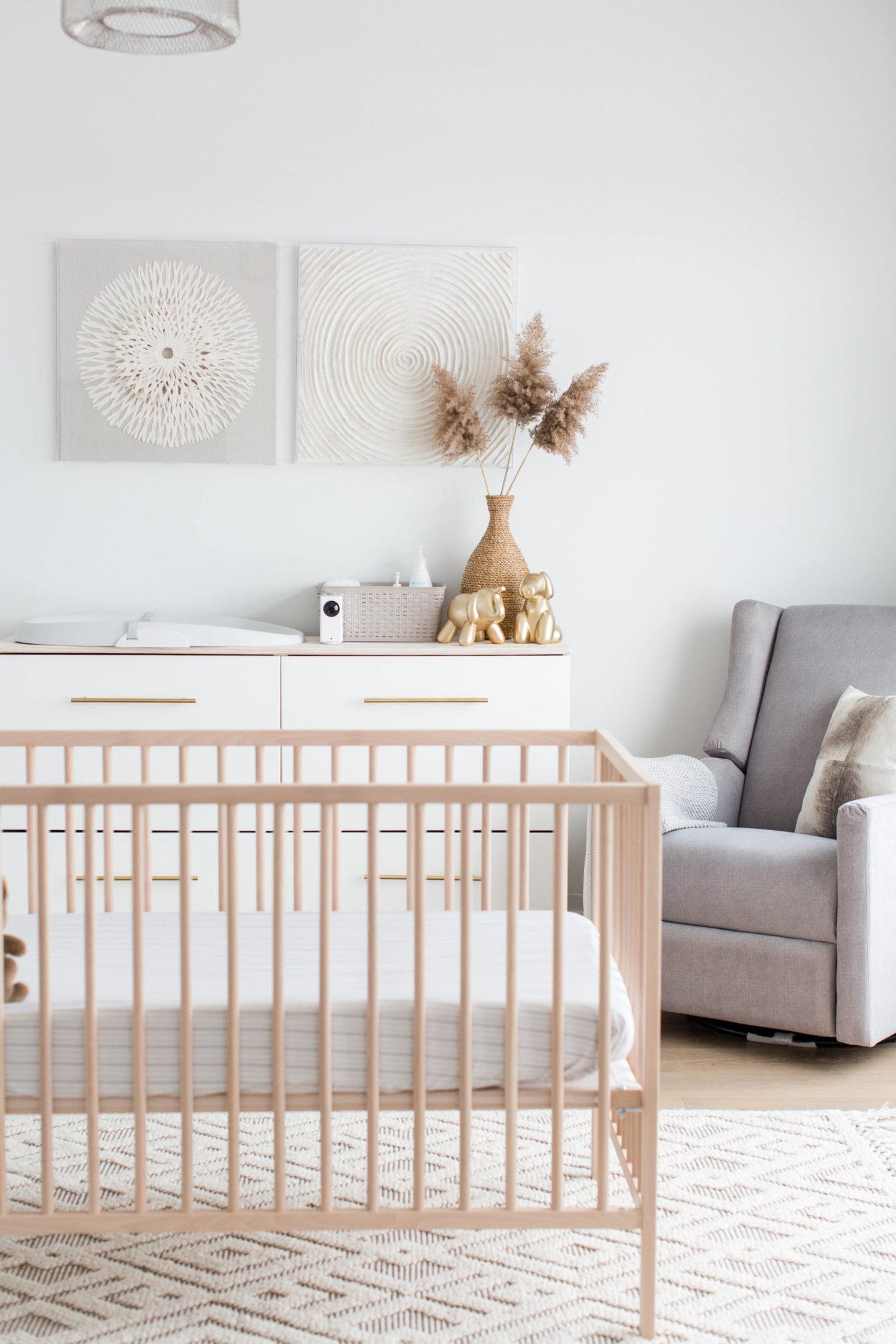 Neutral Modern Warm Nursery Life With